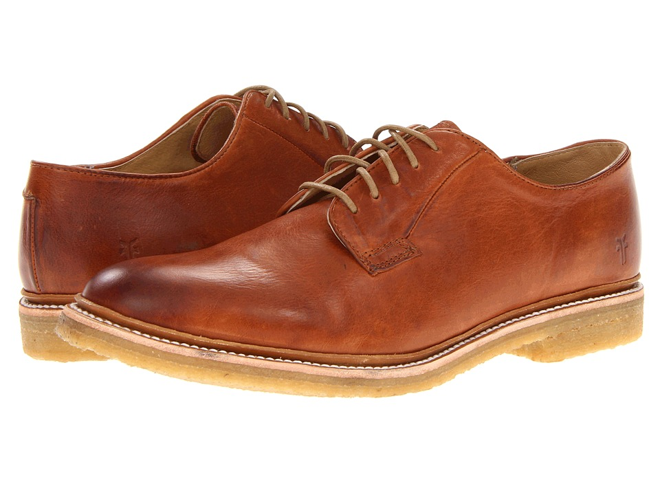 Frye - James Crepe Oxford (Whiskey Soft Vintage Leather) Men's Lace up casual Shoes