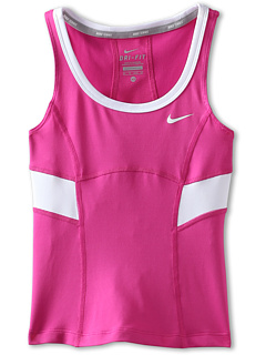 SALE! $14.99 - Save $15 on Nike Kids Power Tank Top (Little Kids Big Kids) (Fusion Pink Fusion Pink White White) Apparel - 50.03% OFF $30.00