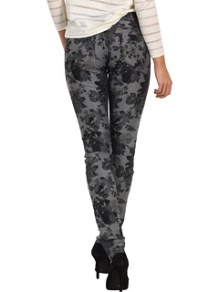 SALE! $29.99 - Save $68 on Mavi Jeans Serena Low Rise Super Skinny in Grey Floral (Grey Floral) Apparel - 69.40% OFF $98.00