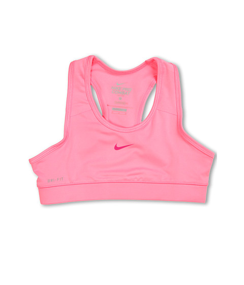 Nike Kids - Pro Core Sports Bra (Little Kids/Big Kids) (Polarized Pink/Fusion Pink) Girl