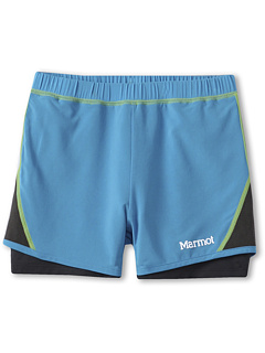 SALE! $16.99 - Save $18 on Marmot Kids Girls` Ascend Short (Little Kids Big Kids) (Blue Sea) Apparel - 51.46% OFF $35.00