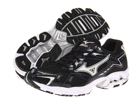 Mizuno - Wave Unite (Black/White) Men's Running Shoes