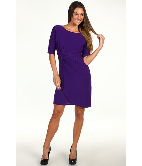 Christin Michaels - Gwen Dress (Purple) Women's Dress