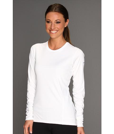 Nike - Miler L/S Top (White/Reflective Silver) Women