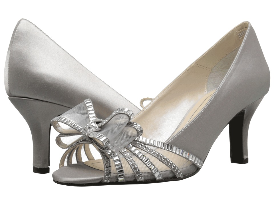 Caparros Diandra (Silver Satin) High Heels