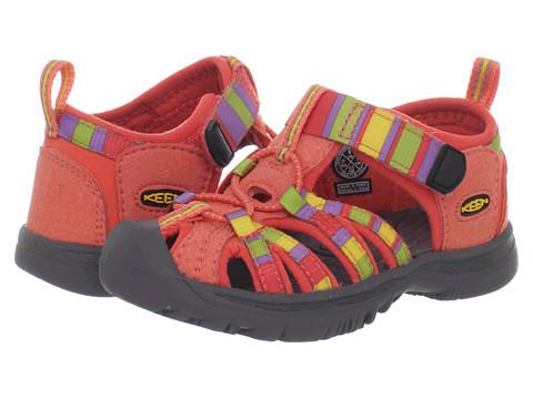 Keen Kids - Whisper (Toddler) (Raya/Hot Coral) Girls Shoes