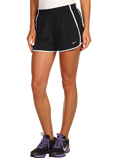 SALE! $21.99 - Save $10 on Nike Low Rise Tempo Short (Black Black White White) Apparel - 31.28% OFF $32.00