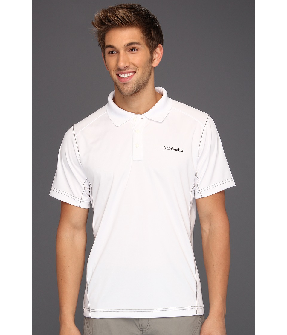 Columbia - Blasting Cool Polo (White Cap) Men's Short Sleeve Pullover