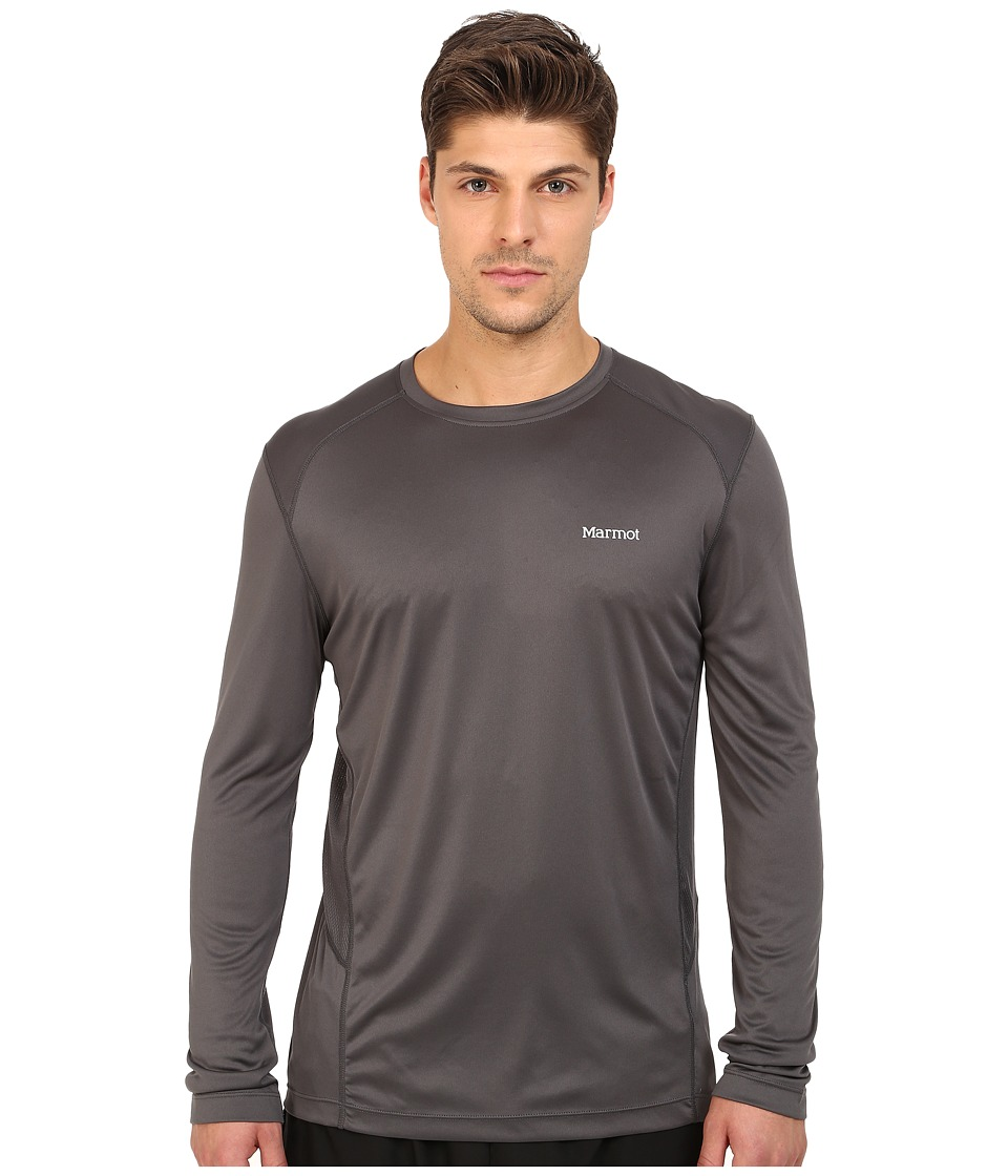 Marmot - Windridge L/S (Slate Grey) Men's T Shirt