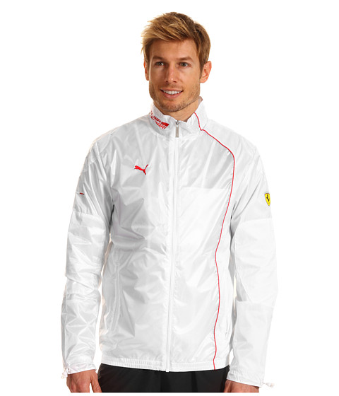 PUMA - SF Lightweight Jacket (White) Men's Jacket
