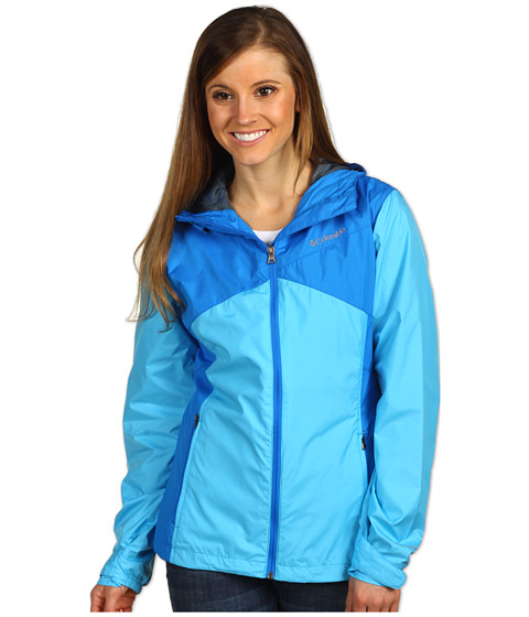 Columbia - Hydro Seeker Jacket (Riptide/Hyper Blue) Women