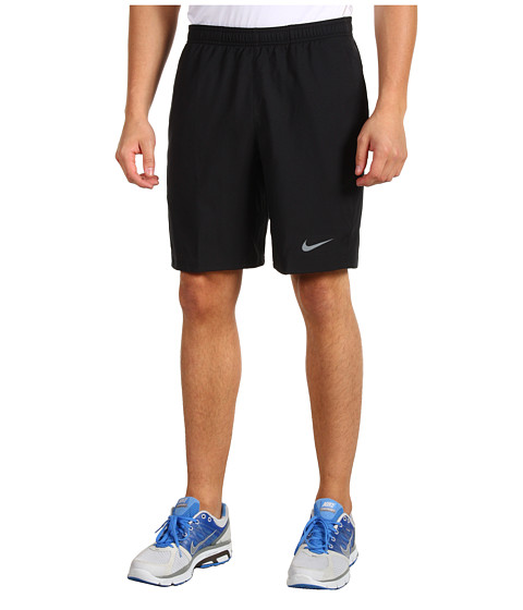 Nike - Power 9 Woven Short (Black/Black/Cool Grey) Men