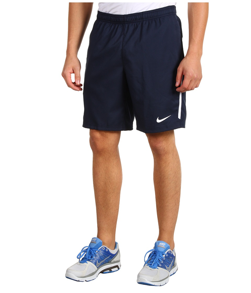 Nike - Power 9 Woven Short (Obsidian/White/Cool Grey) Men