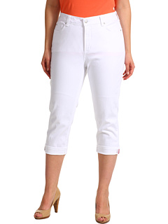 SALE! $18.8 - Save $75 on NYDJ Plus Size Plus Size Edna Crop in Optic White (Optic White) Apparel - 80.00% OFF $94.00