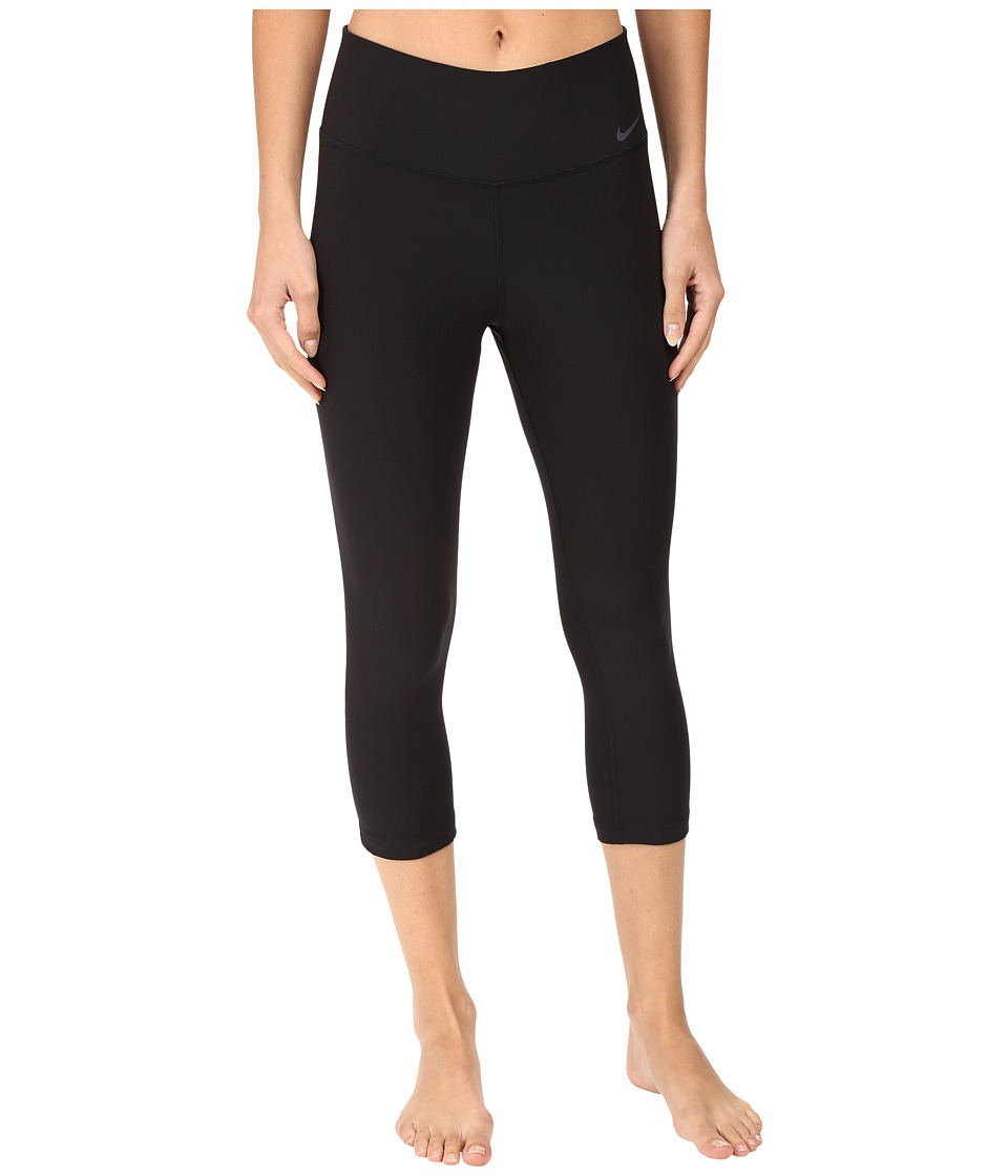 Nike - Legend 2.0 Tight Poly Capri (Black/Cool Grey) Women's Capri