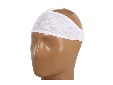 Prana - Burnout Headband (White) Headband
