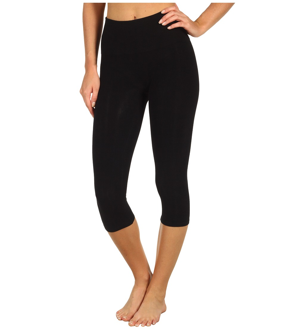 Spanx - Look-at-Me Leggings Cotton Capri (Black) Hose