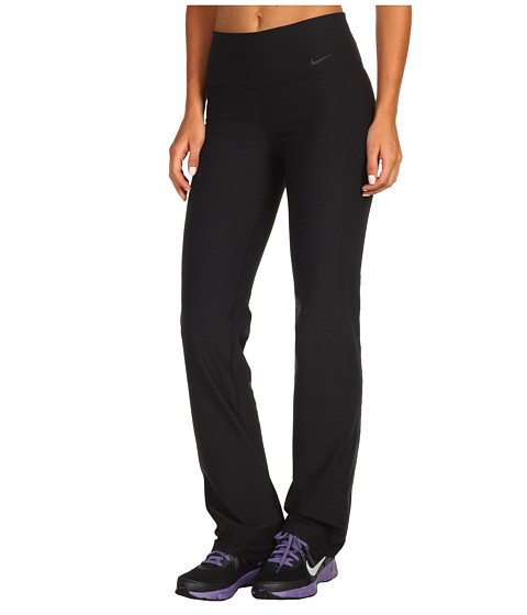 Nike - Legend 2.0 Slim Poly Pant (Black/Black/Cool Grey) Women's Casual Pants