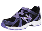 New Balance Kids KV554 (Little Kid/Big Kid) (Black/Purple)