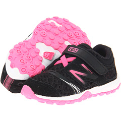 SALE! $14.99 - Save $30 on New Balance Kids KV20v3 (Infant Toddler) (Black Pink) Footwear - 66.65% OFF $44.95