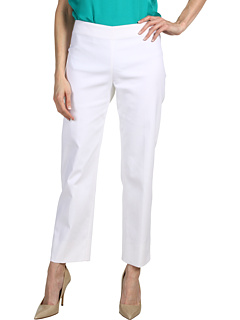 SALE! $149.99 - Save $345 on Calvin Klein Collection Linda Pant (White) Apparel - 69.70% OFF $495.00