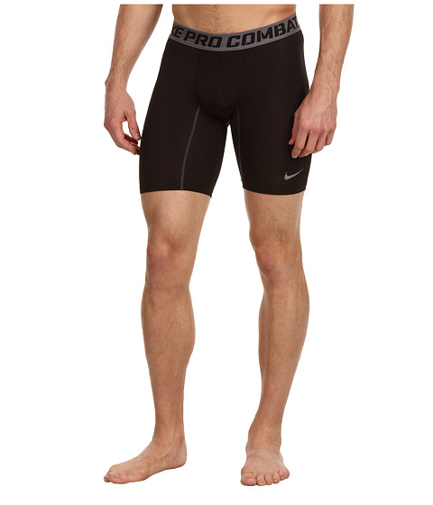 Nike - Pro Core Compression 6 Short 2.0 (Black/Cool Grey) Men