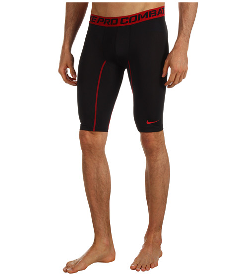Nike - Pro Core Compression 9 Short 2.0 (Black/Gym Red) Men's Workout