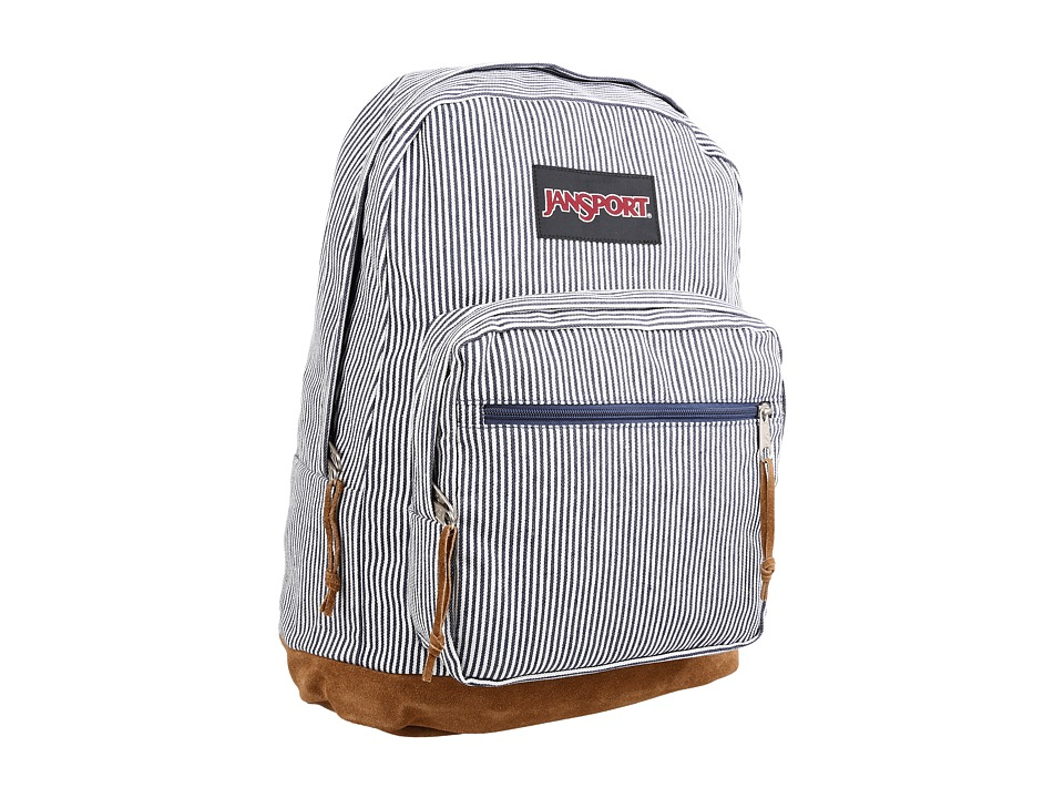 JanSport - Right Pack Expressions (Blue White Stripe) Backpack Bags