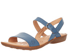 Born - Janna Sandal (Sea Blue (Blue) Full Grain Leather)