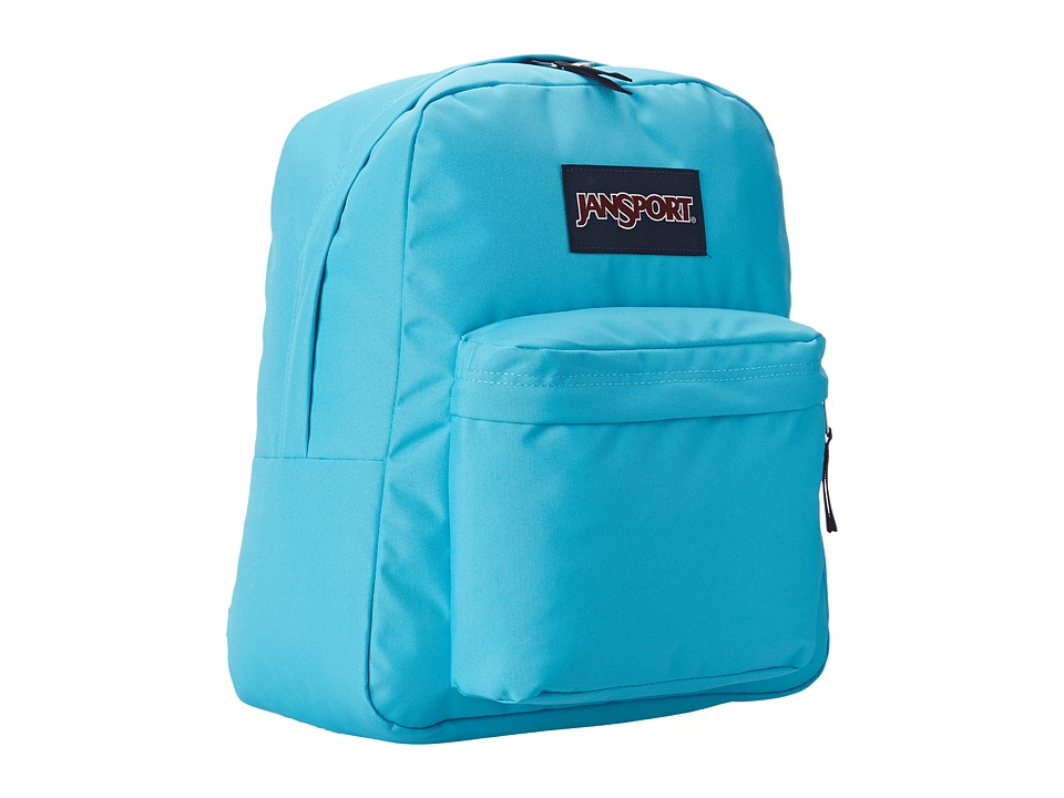 JanSport - Spring Break (Mammoth Blue) Backpack Bags