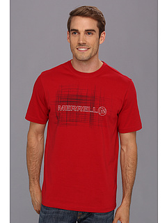 SALE! $12 - Save $18 on Merrell Logo Tee (Scarlet) Apparel - 60.00% OFF $30.00