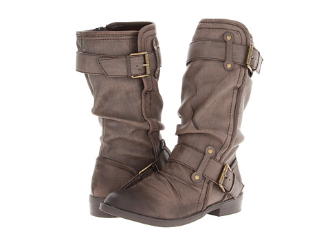 Report - Hilaria (Dark Brown) Women's Zip Boots