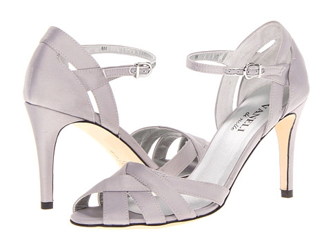 Vaneli - Elita (Silver Satin) High Heels