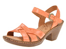 Born - Belinda Sandal (Arancio (Orange) Burnished Full Grain Leather)
