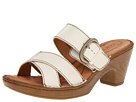 Born - Salima (White Full Grain Leather)