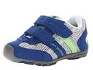pediped Gehrig Flex (Toddler/Little Kid) (Blue/Grey/Lime) Boys Shoes
