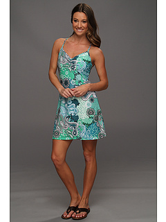 SALE! $39.99 - Save $30 on Prana Sonja Short Length Dress (Teal Garden) Apparel - 42.87% OFF $70.00
