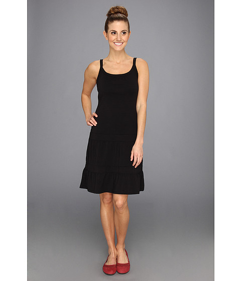 Prana - Lexi Dress (Black Solid) Women's Dress