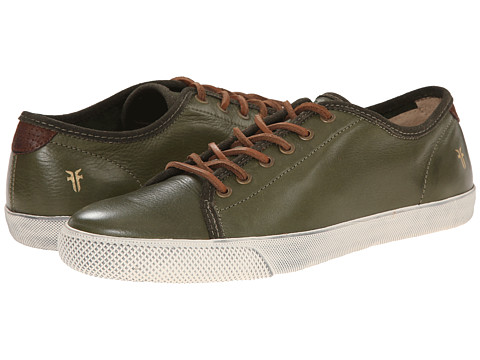 Frye - Chambers Low (Olive) Men's Lace up casual Shoes