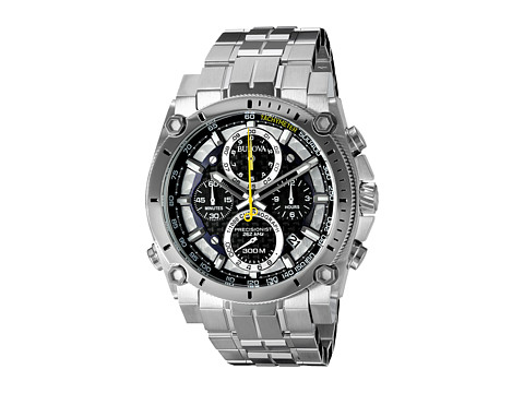 Bulova Mens Precisionist - 96B175 (Stainless) Chronograph Watches