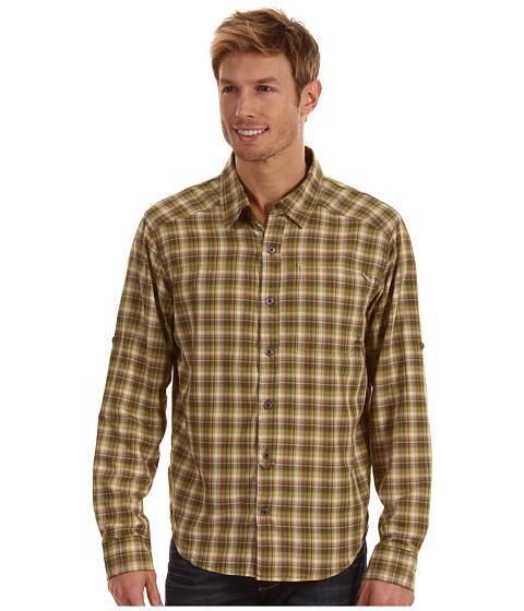 Prana - Dickson (Cargo Green) Men's Short Sleeve Button Up