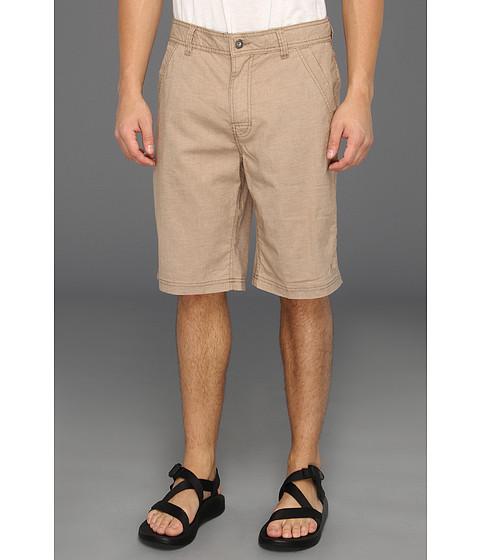 Prana - Furrow Short (Khaki) Men's Shorts