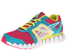 Reebok ZigQuick Fire (Cosmic Berry/Solid Teal/Solar Green/Pure Silver/White) Women's Running Shoes