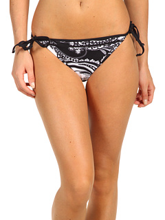 SALE! $16.99 - Save $41 on Tommy Bahama Paisley String Bikini (Black) Apparel - 70.71% OFF $58.00