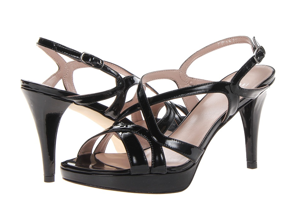 Stuart Weitzman Axis (Black Patent) High Heels