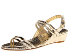 Stuart Weitzman - Rolldown (Pale Gold Serpent)