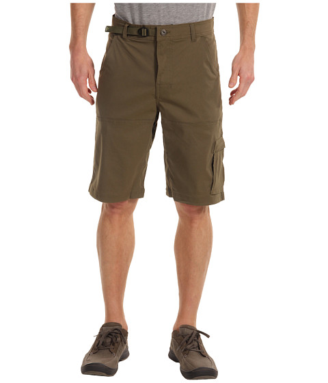 Prana - Stretch Zion Short (Cargo Green) Men
