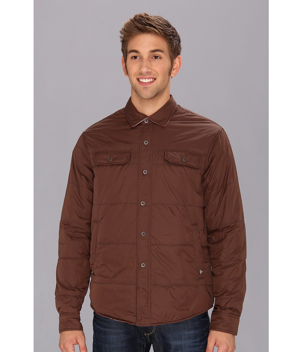 Prana - Rhody Reversible Jacket (Brown) Men's Jacket