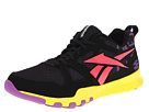 Reebok - SubLite Train 1.0 (Black/Party Purple/Coral Contrast/Solar Green)