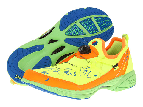 Zoot Sports - Ultra Race 4.0 (Safety Yellow/Blaze/Green Flash) Men's Running Shoes